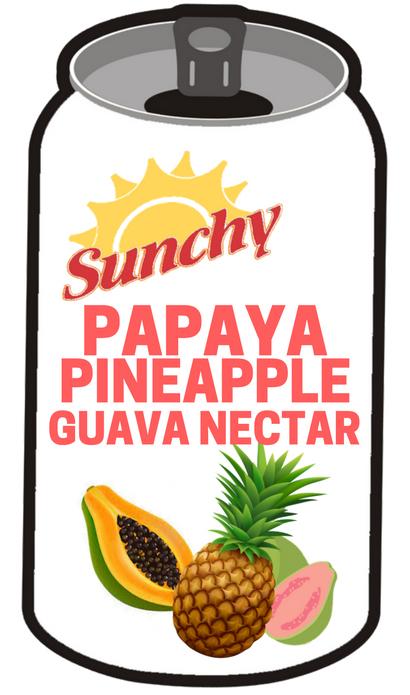 papaya-piceapple-guava-nectar