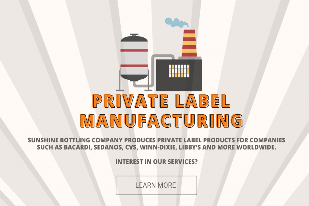 Sunshine bottling private label manufacturing