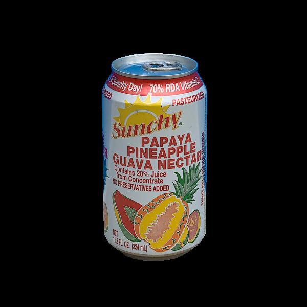 Sunchy Papaya Piña Guava Nectar
